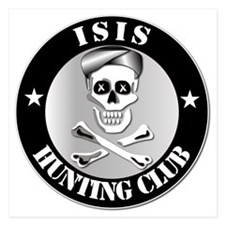 ISIS Hunting Club 5.25 x 5.25 Flat Cards