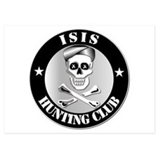 ISIS Hunting Club 5x7 Flat Cards