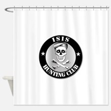 ISIS Hunting Club Shower Curtain