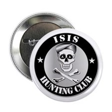 """ISIS Hunting Club 2.25"""" Button"""