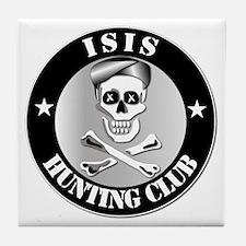 ISIS Hunting Club Tile Coaster