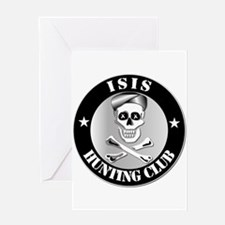 ISIS Hunting Club Greeting Card