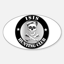 ISIS Hunting Club Decal
