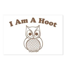 I Am A Hoot Postcards (Package of 8)