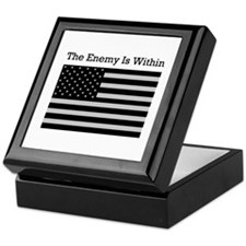 The Enemy Is Within Keepsake Box