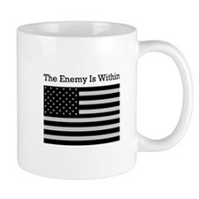 The Enemy Is Within Mug