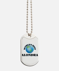 World's Best Alondra Dog Tags