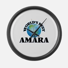 World's Best Amara Large Wall Clock