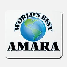 World's Best Amara Mousepad