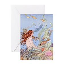 Warwick Goble Mermaid! Kids Greeting Cards
