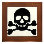 Pirate Guy Framed Tile