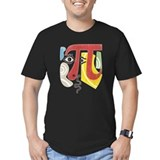 Pi Fitted Dark T-Shirts