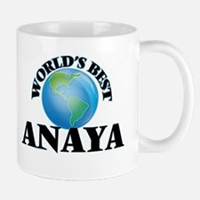 World's Best Anaya Mugs