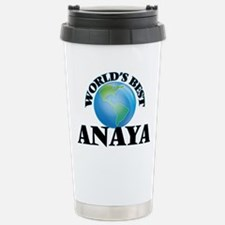 World's Best Anaya Travel Mug