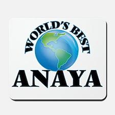 World's Best Anaya Mousepad