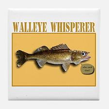 Walleye Whisperer Tile Coaster