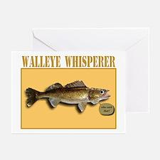 Walleye Whisperer Greeting Cards (Pk of 10)
