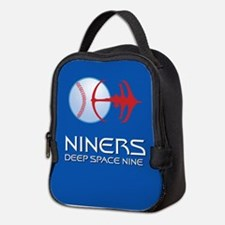 Deep Space Niners Neoprene Lunch Bag