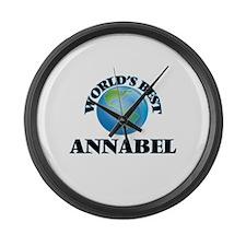 World's Best Annabel Large Wall Clock