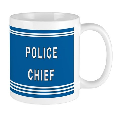 Police Chief Blues Mug