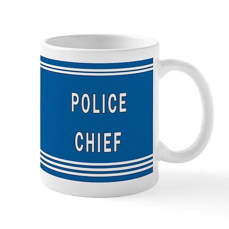Police Chief Mug