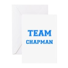 TEAM CHAPMAN Greeting Cards (Pk of 10)
