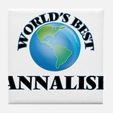 World's Best Annalise Tile Coaster