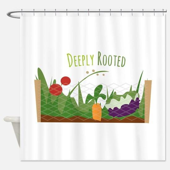 Deeply Rooted Shower Curtain