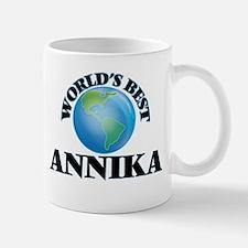 World's Best Annika Mugs