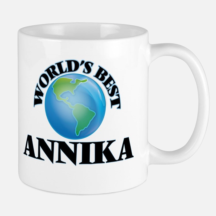 World's Best Annika Mugs