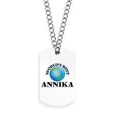 World's Best Annika Dog Tags