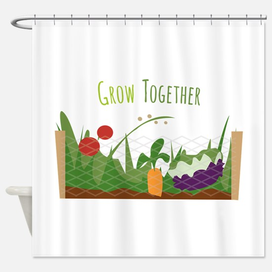 Grow Together Shower Curtain