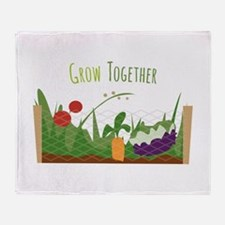 Grow Together Throw Blanket