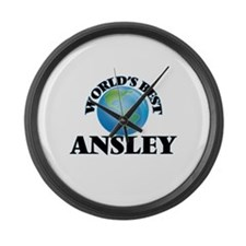 World's Best Ansley Large Wall Clock