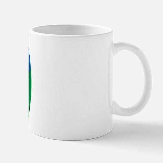Wavy Lesotho Flag Mug