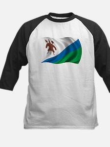 Wavy Lesotho Flag Tee