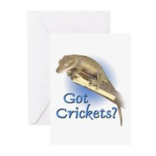 Crested Gecko Greeting Cards (Pk of 10)