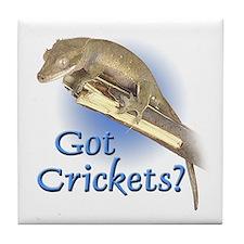 Crested Gecko Tile Coaster