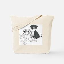 H & Mtl Littermates Tote Bag