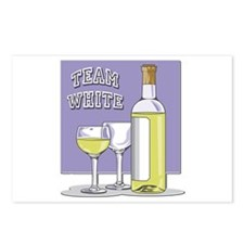 Team White Wine Postcards (Package of 8)