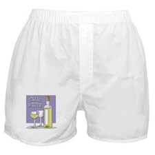Team White Wine Boxer Shorts