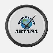 World's Best Aryana Large Wall Clock