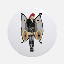 Dark Bondage Fairy Ornament (Round)