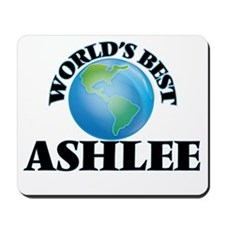 World's Best Ashlee Mousepad