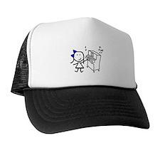 Girl & Piano Hat