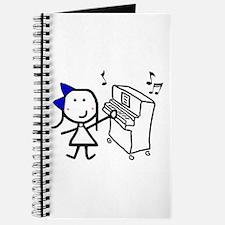 Girl & Piano Journal