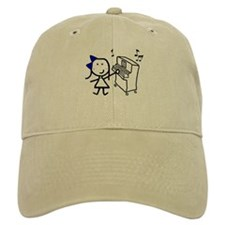 Girl & Piano Cap