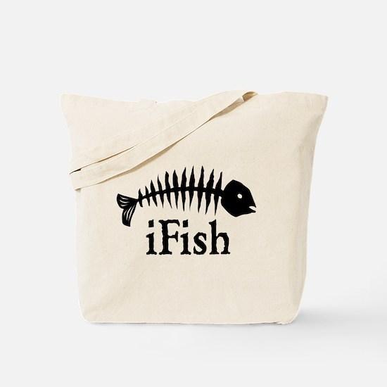 I Fish Tote Bag