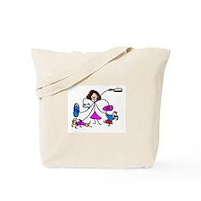 Cute Super midwife Tote Bag