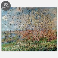 Spring, 1880 82 (oil on canvas) - Puzzle